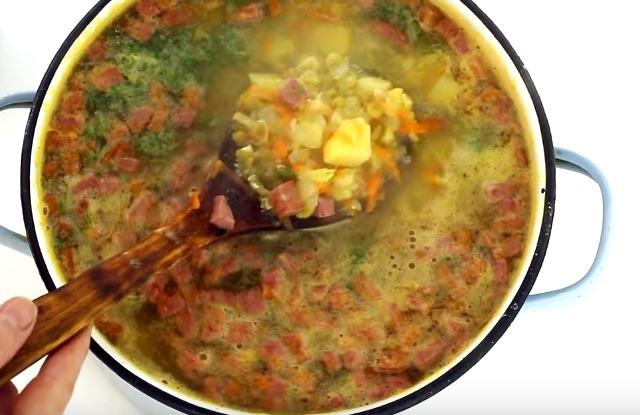 Гороховый суп. Рецепты приготовления домашнего супа с фото