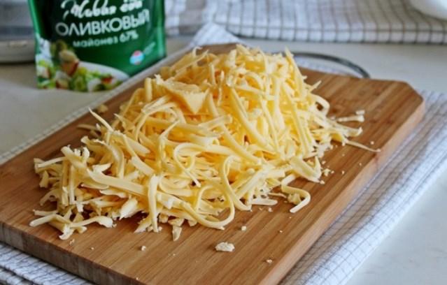 сыр потереть на терке
