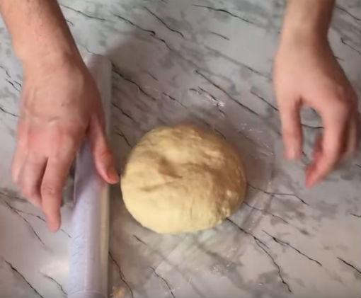 тесто в пленку