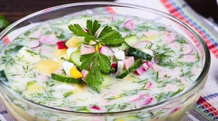 Рецепты приготовления классической и оригинальной окрошки на кефире