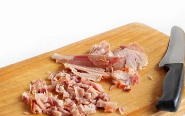 отделить от кости мясо