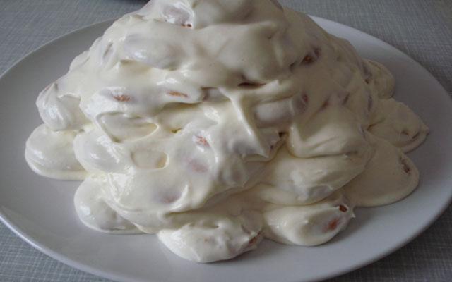 Формирование торта в виде черепахи