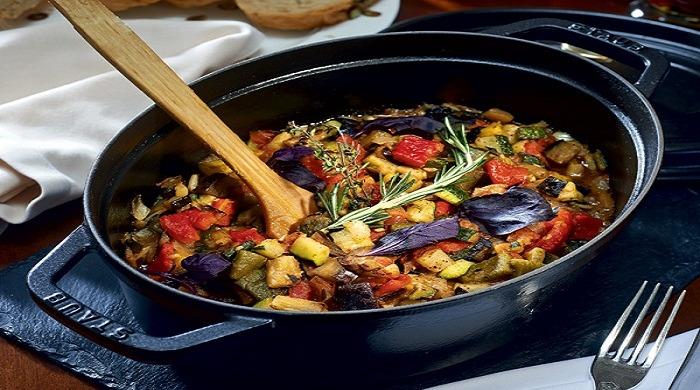 Рататуй — несложные рецепты приготовления с разным набором овощей