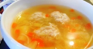 Рецепты приготовления супа с вермишелью и фрикадельками из фарша