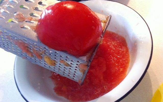 из помидор сделать пюре