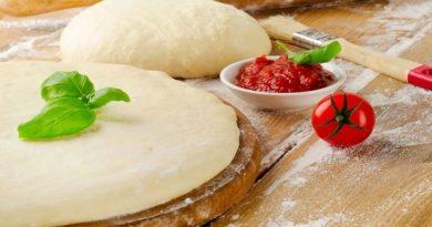 Рецепты приготовления быстрого и вкусного бездрожжевого теста для пиццы