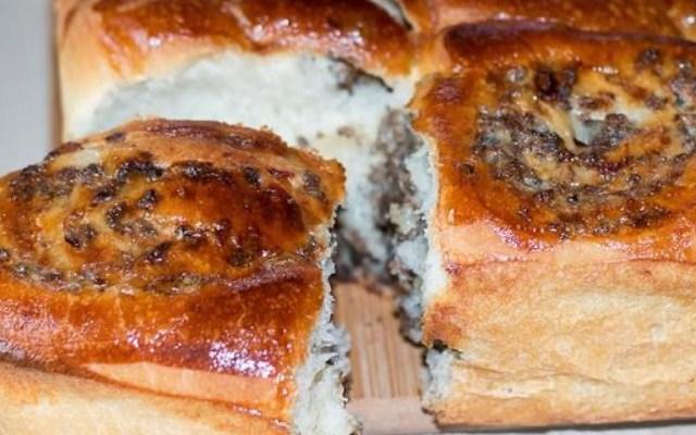 Разборный мясной пирог