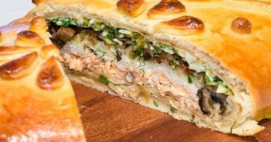 Рецепты приготовления рыбных пирогов со свежей и консервированной рыбой