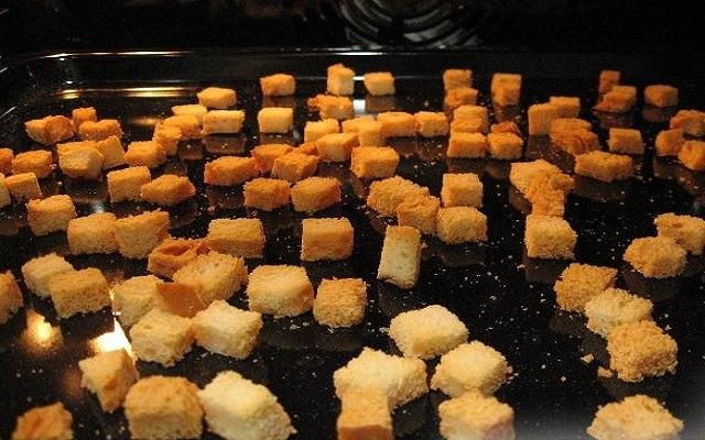 приготовить сухари