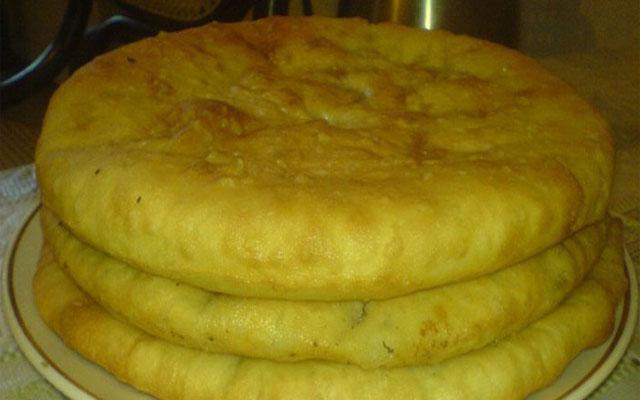 Осетинский пирог с фаршем