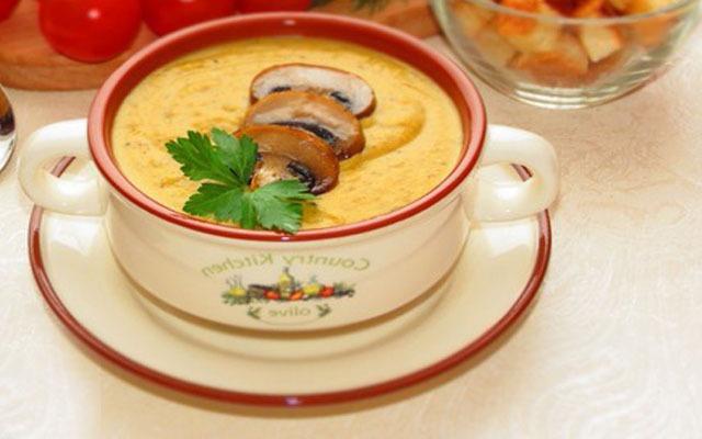 суп готов, разливаем по чашкам