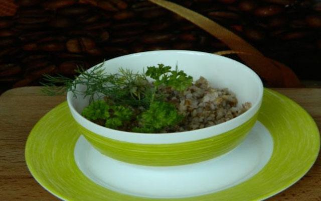 Рецепт приготовления гречки на воде.