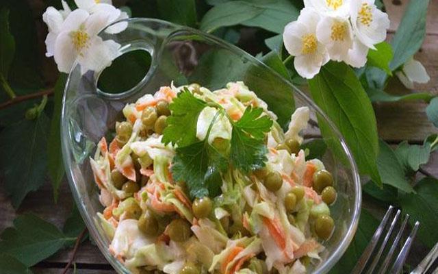 Салат хрустик с куриным филе