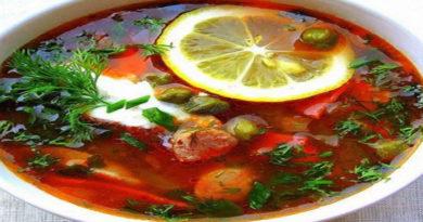Рецепты классической сборной мясной солянки с фото