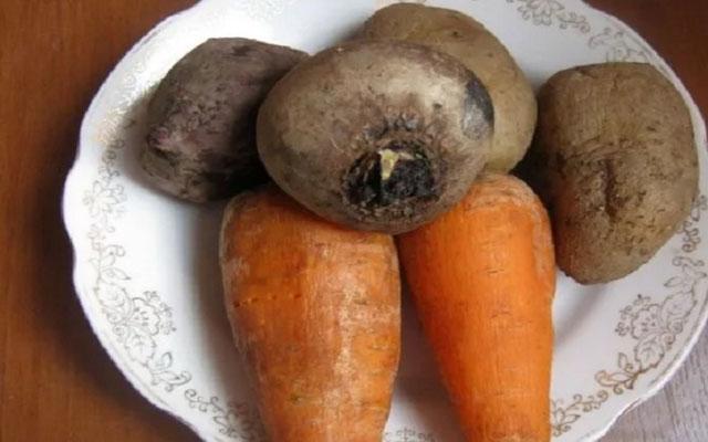 Овощи хорошо промыть
