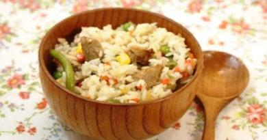 Рецепты приготовления вкусного рассыпчатого риса с овощами и мясом