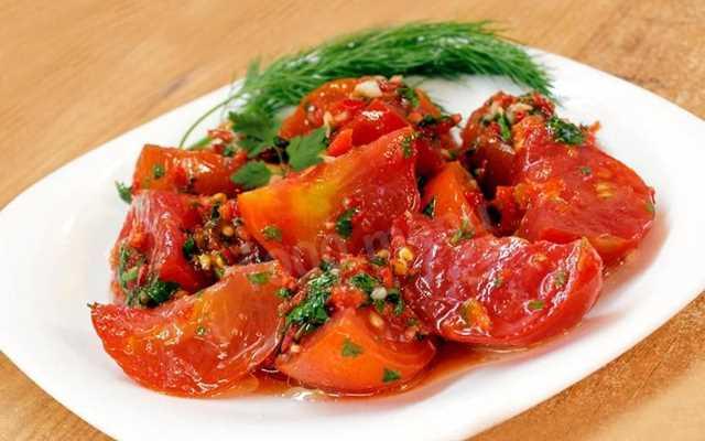 томаты по-корейски