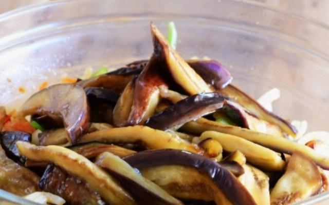 добавить баклажаны к овощам