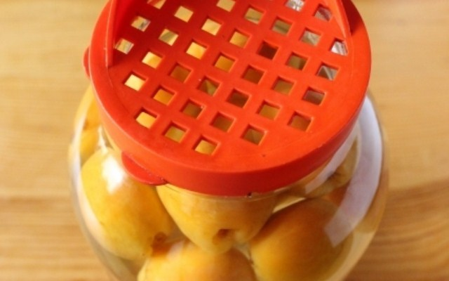 дать абрикосам настояться