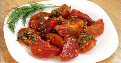 Рецепты заготовок вкусных острых помидоров на зиму по-корейски