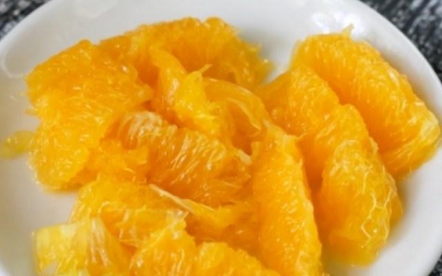 очистить апельсины