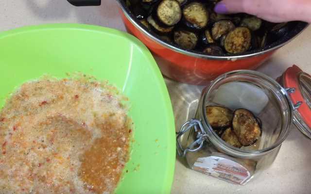 Салаты из баклажанов на зиму – лучшие заготовки из овощей