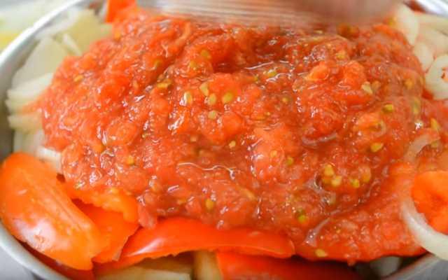 томаты измельчить на терке