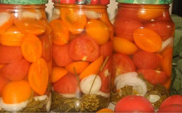 томаты в желе