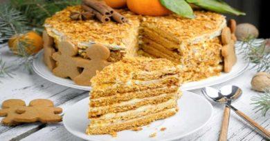 Рецепты простых тортов приготовленных на день рождения в домашних условиях, с фото, пошагово