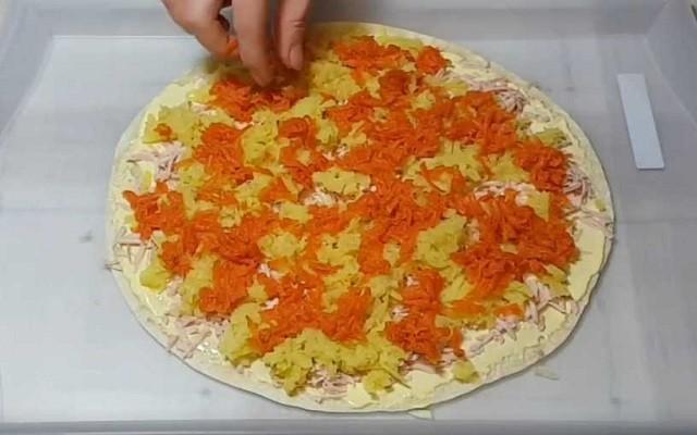 распределить морковь