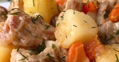 тушёная картошка