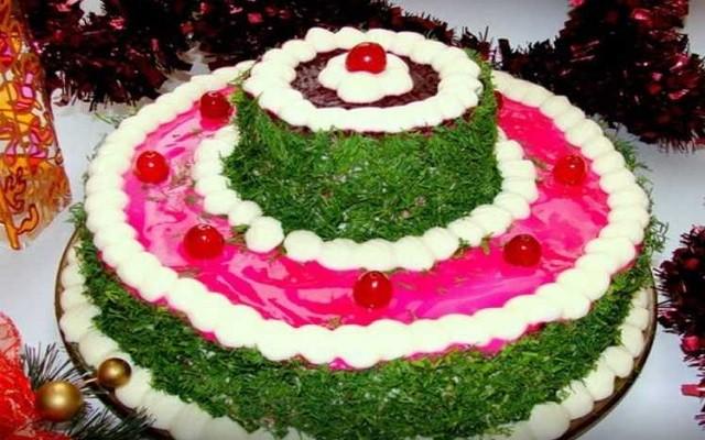 шуба-торт