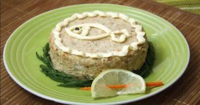 Рецепты праздничного рыбного блюда — классический форшмак из селёдки
