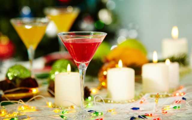коктейль новогоднее настроение