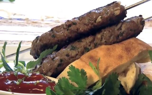 люля кебаб из рубленого мяса