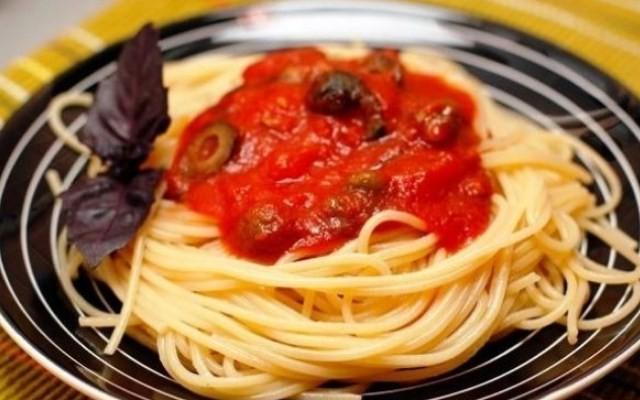 Простой рецепт спагетти по-итальянски