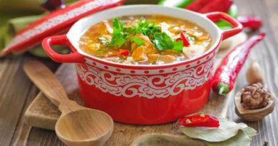 Суп харчо — классические рецепты национального пряно-острого супа по-грузински