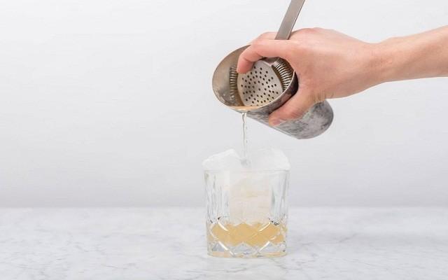 лед, напиток из шейкера