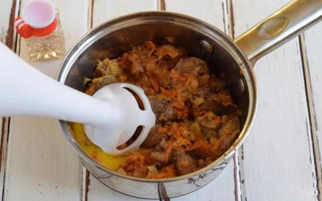 Куриная печень — рецепты приготовления паштета из куриной печени в домашних условиях