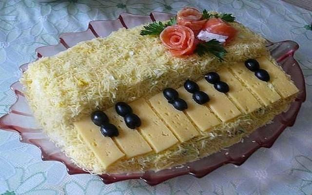 салат рояль