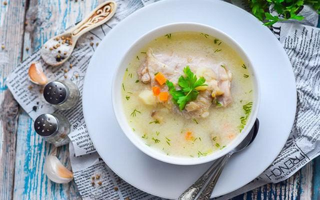 Грибной суп с сыром в мультиварке