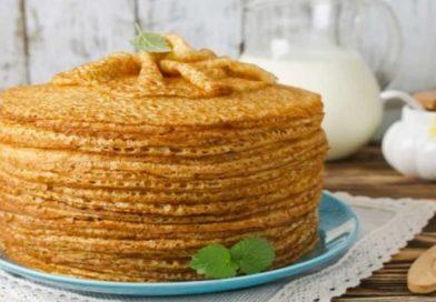 Рецепт тонких блинов приготовленных на молоке, на кефире, на воде. Тесто для блинов замешано на дрожжах