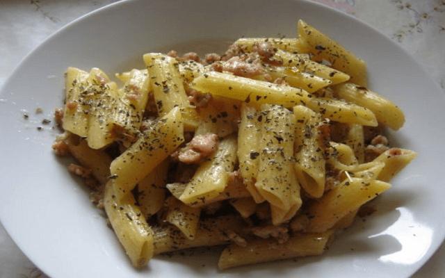 макароны по-французски с мясом