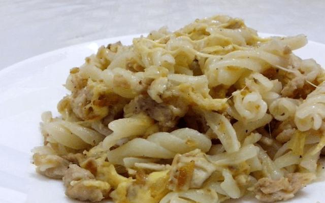 макароны по-флотски с сыром