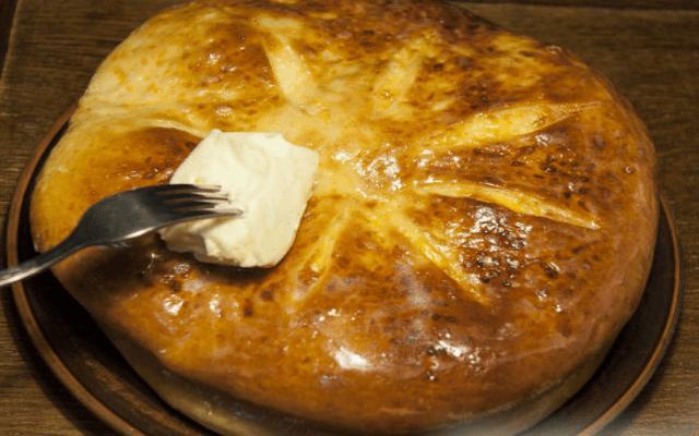 смазать сливочным маслом