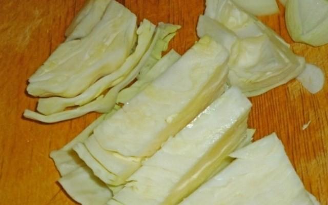 подготовить капусту