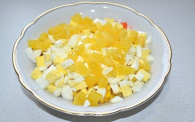 яйца, апельсин