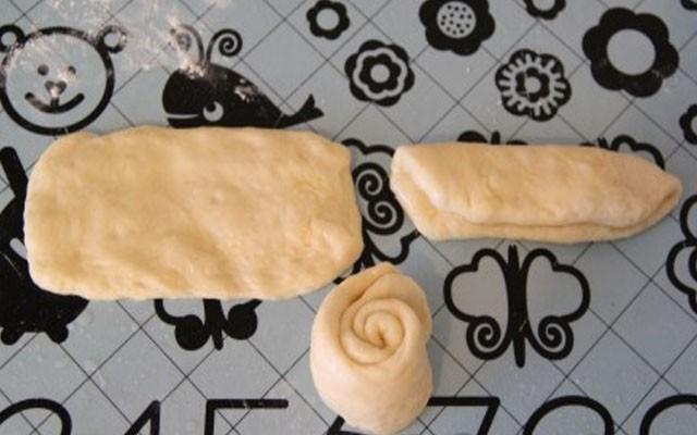 сформировать булочки