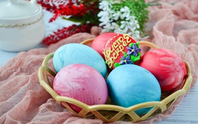 яйца в лоскутах
