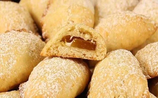 Постное печенье на яблочном соке